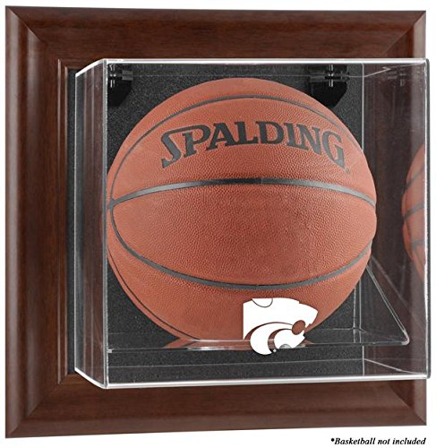Kansas State Wildcats Framed Wall Mountable Basketball Display Case by Sports Memorabilia
