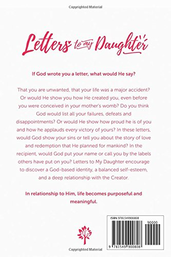 Letters to my Daughter: If God wrote you a letter, what would He say
