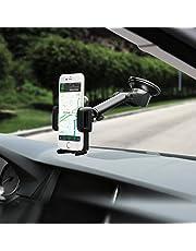 Mpow 【Versione AGGIORNATA】 Supporto Smartphone per Auto Culla Regolabile [Garanzia a Vita] per Cruscotto Dashboard Parabrezza, Porta Cellulare per Molti Smartphone e DisposidiviSwitch, GPS