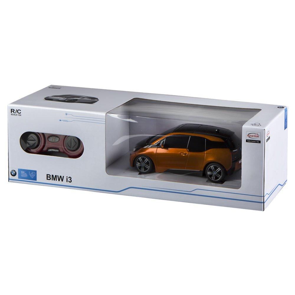 Rastar - Coche teledirigido BMW I3, escala 1:24, color naranja (ColorBaby 85052): Amazon.es: Juguetes y juegos