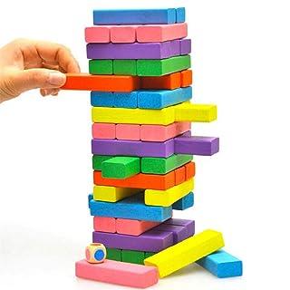 QARYYQ Educazione per Bambini Colore Cognitivo in Legno Gioco per Adulti per Il Tempo Libero Singhiozzante 48 Piegatura Ad Alto Colore Giocattolo