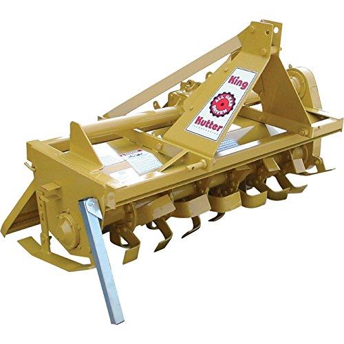 King Kutter Gear-Driven Rotary Tiller – 5ft. Tiller Width, Model Number TG-60-Y