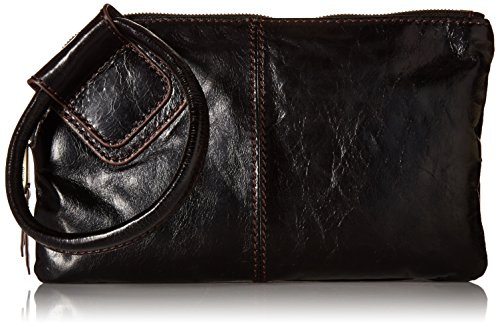 (Hobo  Sable VI-35036BLK Wristlet,Black,One Size )