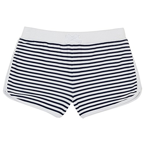 French Toast Girls' French Terry Short, White, L - Terry Girls Shorts