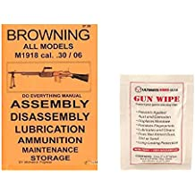 Browning BAR M1918 .30/06 Do Everything Manual + Ultimate Arms Gear Gun Cleaning Wipe
