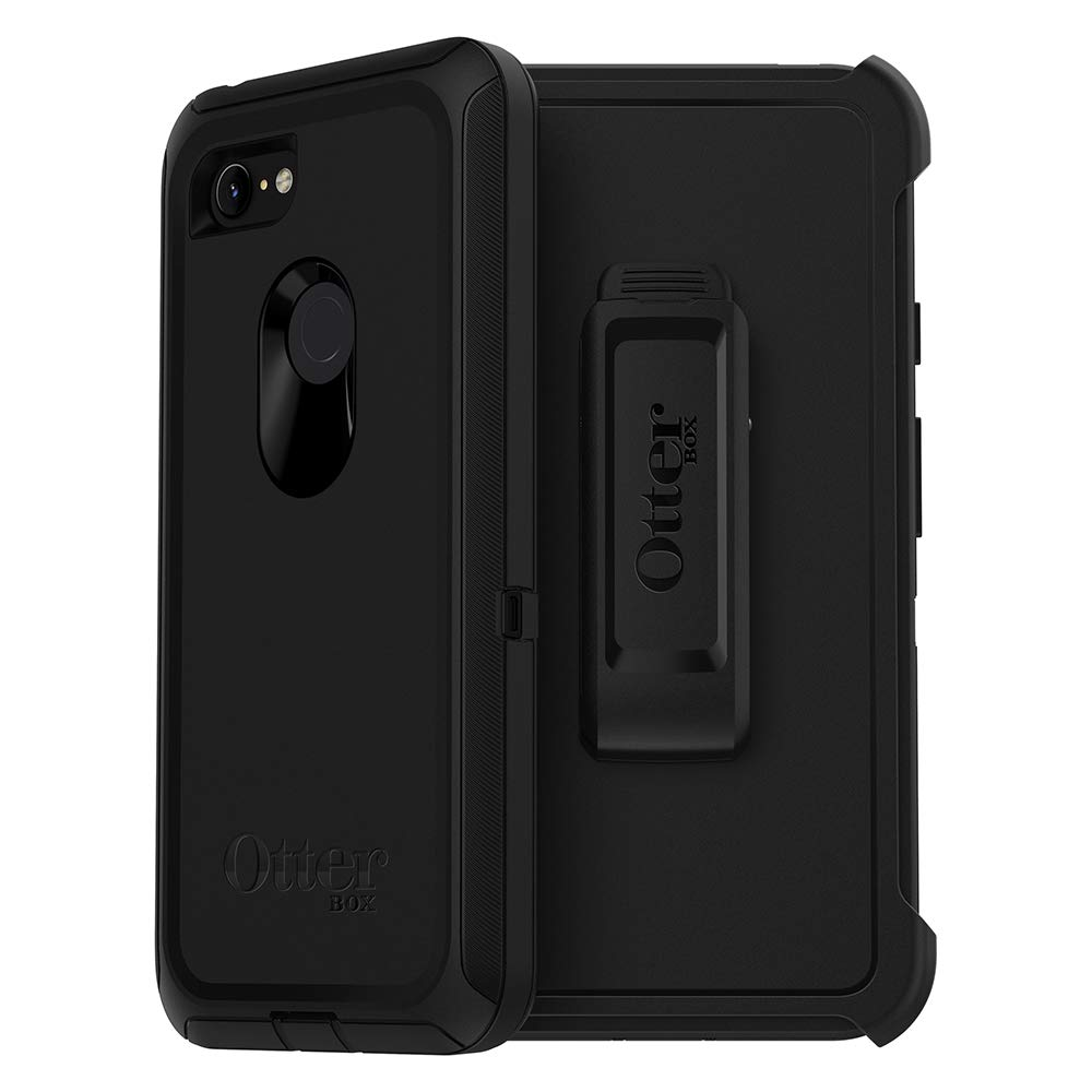 OtterBox Defender Series SCREENLESS Edition Case for Google Pixel 3 XL - Retail Packaging - Black by OtterBox (Image #1)