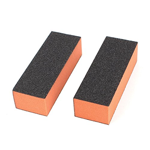 Lady 3-Way Manicure Acrylic Nail Art Buffing Sanding Block F