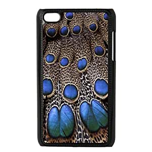 Ipod Touch 4 Phone Case peacock pattern Q6A1159676