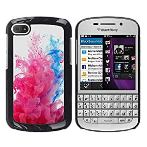 LECELL--Funda protectora / Cubierta / Piel For BlackBerry Q10 -- Explosiones de color --