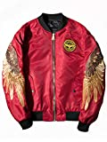 Bestmail Mens Casual Slim Fit Lightweight Baseball Jacket