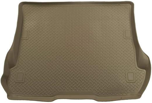 Tan Cargo-22703 Escalade//Suburban//Yukon Husky Liners Classic Style Floor Mats