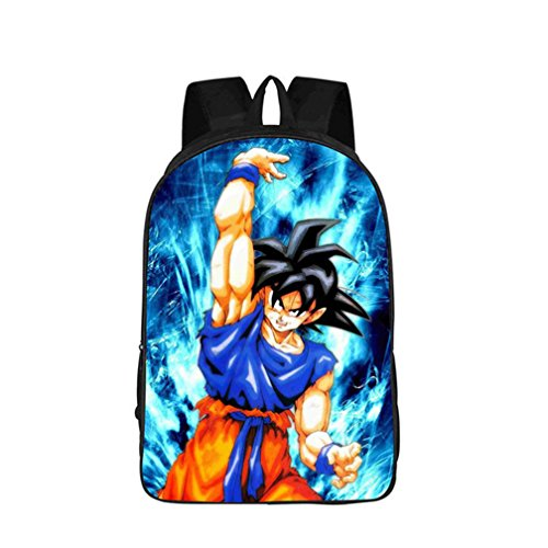 YOYOSHome Anime Dragon Ball Z Cosplay BookBag Daypack Backpack School Bag by YOYOSHome