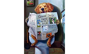 Buffalo Games - A Dog's Life - Dog Gone Funny - 750 Piece Jigsaw Puzzle