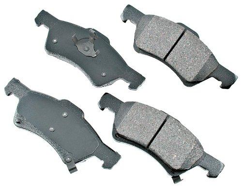 Akebono ACT857 ProACT Ultra-Premium Ceramic Brake Pad -