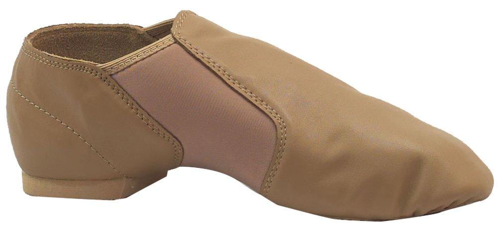 Split Sole Jazz Ankle Boot Girls Tan 3