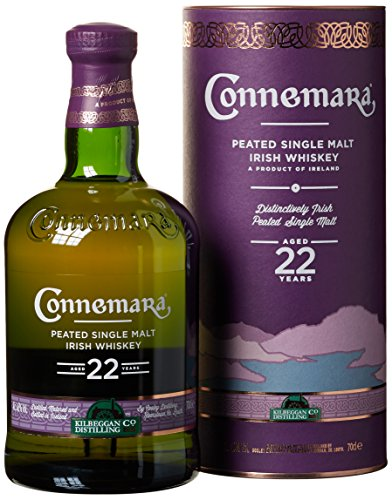 Connemara Irish Peated Malt 22 Years Old mit Geschenkverpackung  Whiskey (1 x 0.7 l)