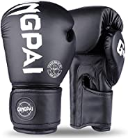 Boxing Gloves for Men Women Kids,PU Leather UFC Training Mitts Gloves for MMA Punching Bag,Kickboxing,Muay Tha