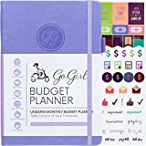 GoGirl Budget Planner - Monthly Financial Planner Organizer Budget...