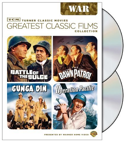 TCM Greatest Classic Film Collection: War (Battle of the Bulge / The Dawn Patrol / Gunga Din / Operation Pacific) by