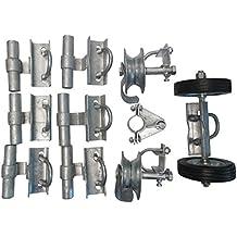 XCEL Fence RRG9000E Chain Link Fence Sliding Gate & Rolling Gate Hardware Kit
