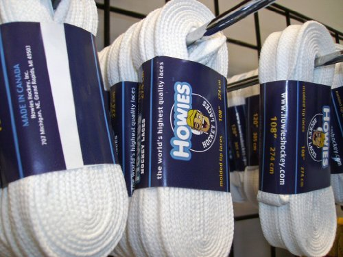 Graf White Cotton Referee Skate Laces Length 120 inches
