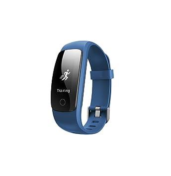Olliwon Bracelet Connecté, Montre Sport Cardiofréquencemètre Tracker dactivité Etanche Montre GPS Connectée Chronomètre