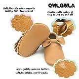 Owlowla Baby Moccasins Leather Soft Sole Newborn