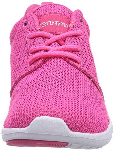Velocità Kappa Ii Sneaker Unisex-erwachsene Rosa (2210 Colore Rosa / Bianco)