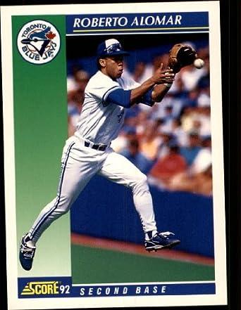 Amazoncom 1992 Score Baseball Card 15 Roberto Alomar