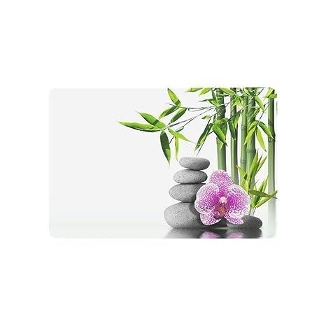 shenhaimojing Cojín Flor De Orquídea Púrpura China Bambú Y ...