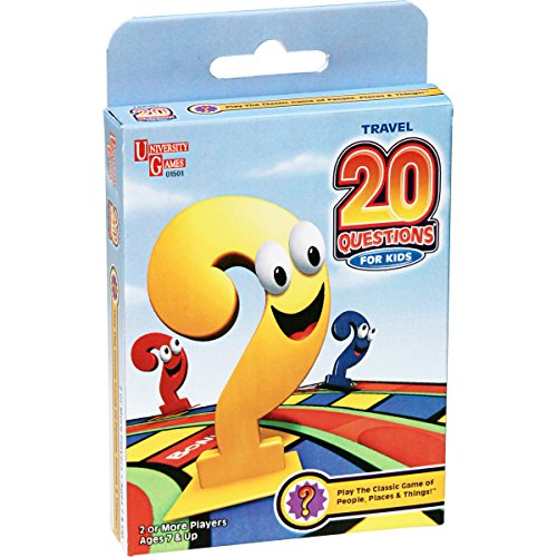 20 Questions for Kids Card Game