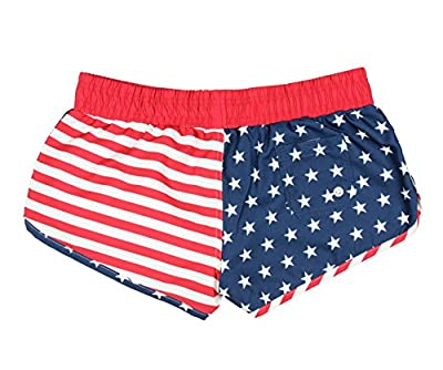 American Flag Women's Printed Shorts
