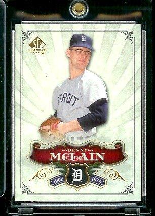 2006 Upper Deck SP Legendary Cuts Baseball Card #90 Denny (Denny Mclain Baseball)