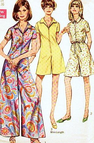 Amazon.com: Simplicity 7445 Womens Pantdress Jumpsuit Romper Pattern ...