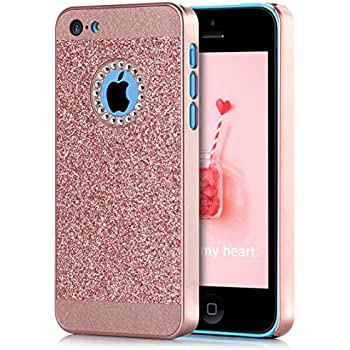 iphone 5c custodia glitter