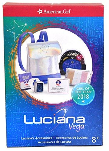 Las Vegas Accessories - American Girl Doll 2018 Luciana Vega Accessories (Space-ready Theme)