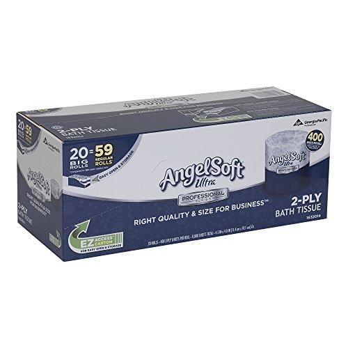 Georgia-Pacific Angel Soft Ultra Professional Toilet Paper 1632014 (WxL) 4.5
