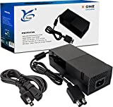 Xbox One Power Supply Brick Cord, Yteam® Ac Adapter Power Supply for Xbox One. Great Charger Charging Accessory Kit with Cable for Xbox One Power Supply [ENHANCED QUIET VERSION]