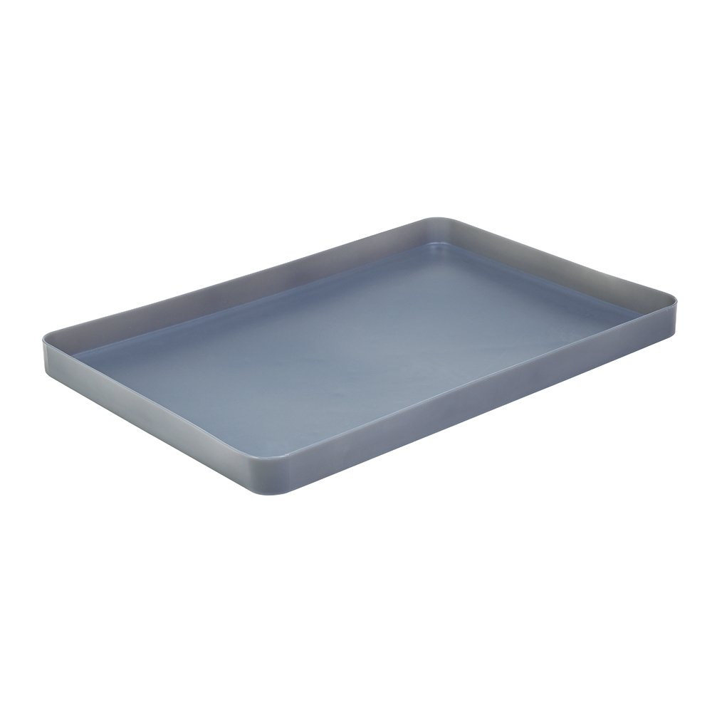 New Pig PAK658 Poly Utility Tray, 12 L Sump Capacity, 61 cm Length x 43 cm Width x 5.7 cm Height, Grey New Pig Corporation