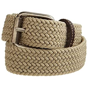 Levi's Big Boys' Braided Elastic Web Belt