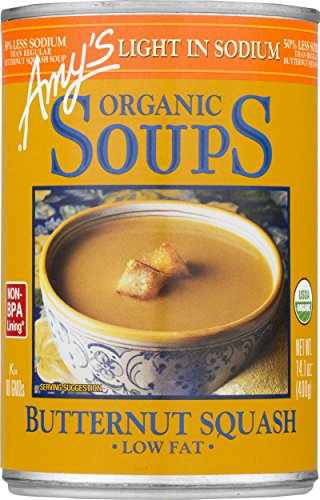 - Amy's Organic Soups, Butternut Squash, 14.1 Ounce (Pack of 12)