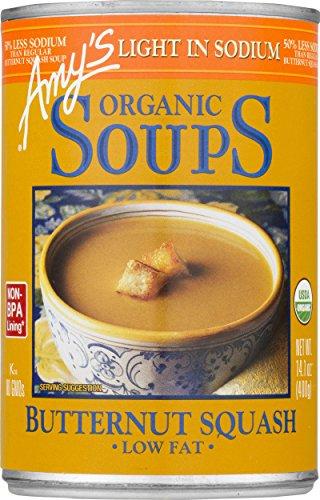 Amy's Organic Soups, Butternut Squash, 14.1 Ounce (Pack of 12) - Butternut Soup