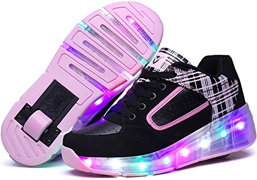 UBELLA Girls Single Roller Sneakers