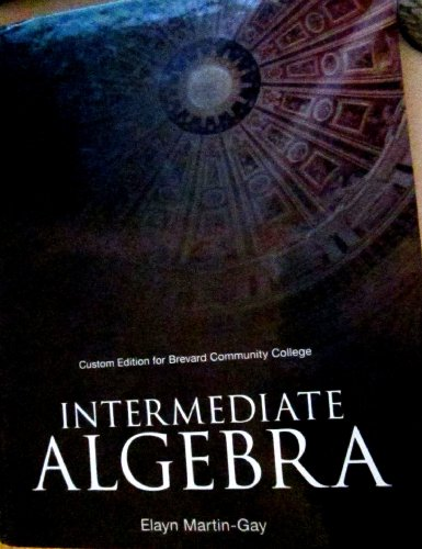 INTERMEDIATE ALGEBRA >CUSTOM<