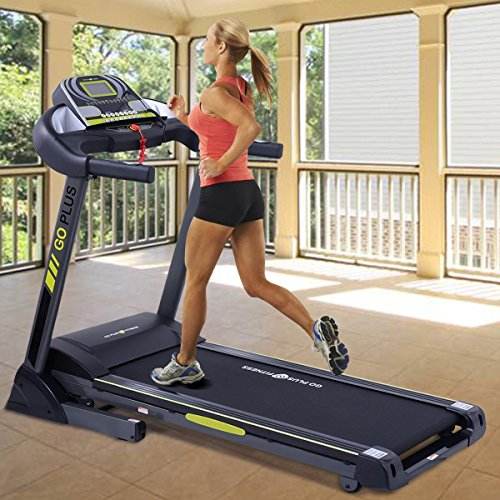 Apontus 2.5 HP Electric Support Motorized Power Running Folding Treadmill