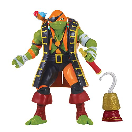 Teenage Mutant Ninja Turtles Movie 2 Out Of The Shadows Michelangelo In Pirate Costume Figure
