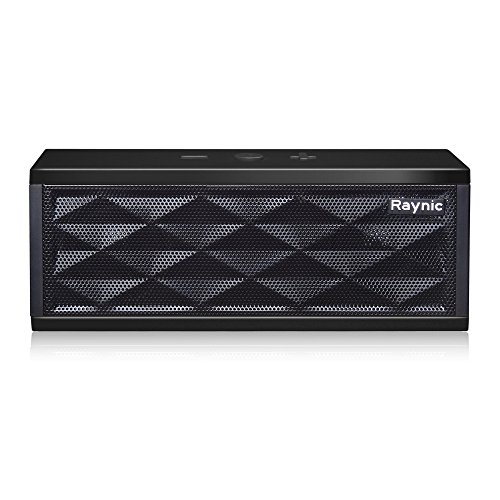 Bluetooth Speakers Raynic Ultra-Portable Wireless Speaker with Stereo HD Sound and Enhanced Bass(Black)