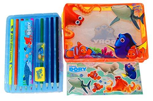 Adorable & Vibrant Disney Finding Dory Filled Pencil Case, O