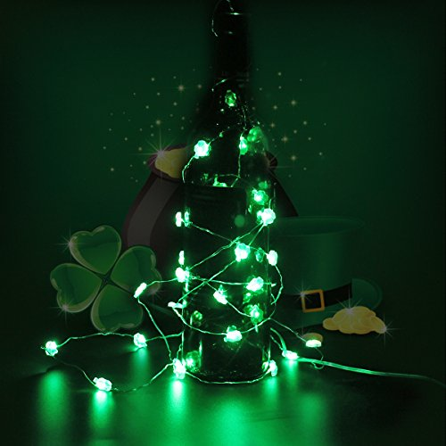 Shamrock String Lights for St Patrick's Day