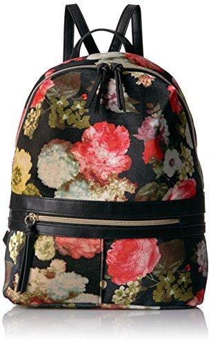 Floral Velvet Jeans (T-Shirt & Jeans Floral Velvet Back Pack, Black)